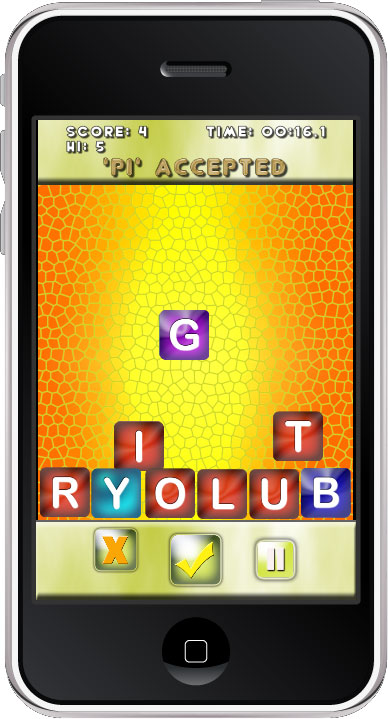 Jatzan WordBlitz iPhone game